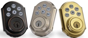 Kwikset's SmartCode deadbolts 3 colors