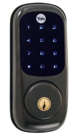 Yale Security YRD220-ZW-619 Real Living Electronic Touch Screen Deadbolt oil rubbed bronze