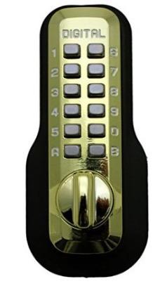 Digital Door Lock M210 Mechanical Keyless Deadbolt bump proof