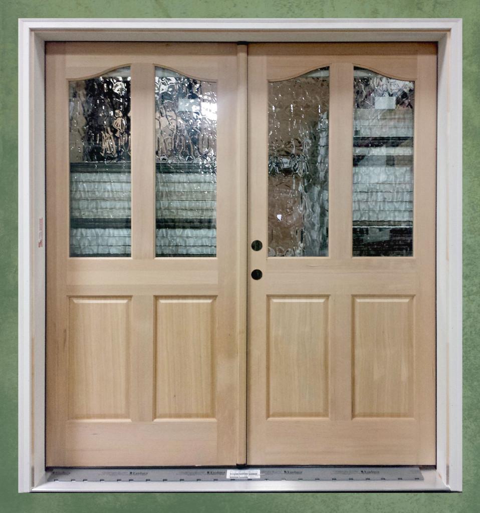 hemlock fir exterior door