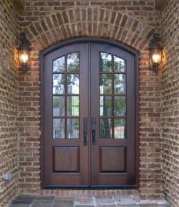 Perfect Mahogany Exterior Door
