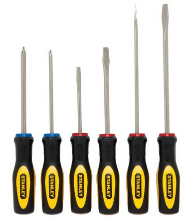 stanley 60-060 standard fluted screwdriver