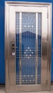 steel exterior door