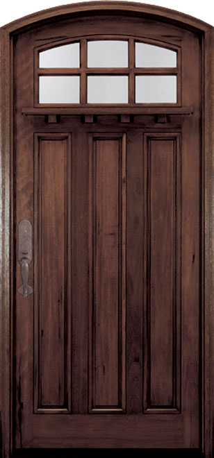 Walnut Exterior Door