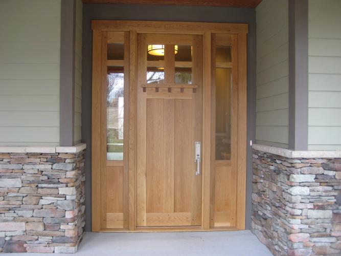 Merveilleux White Oak Exterior Door