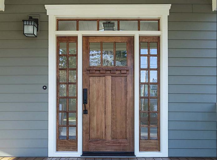 entry door solid wood