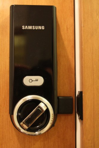 Samsung Ezon Digital Door Lock SHS-3321 Universial Deadbolt (US version)-[New Model