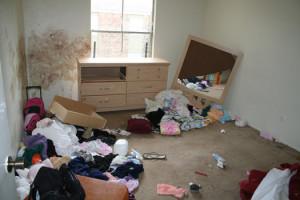 burglary scene