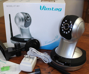 vimtag fujikam indoor security camera