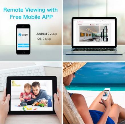 Funlux CS-S1U-W-N 1 Megapixel 720P HD Indoor