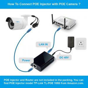 poe injector camera