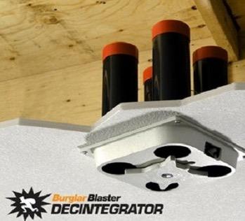 burglar blaster home security device