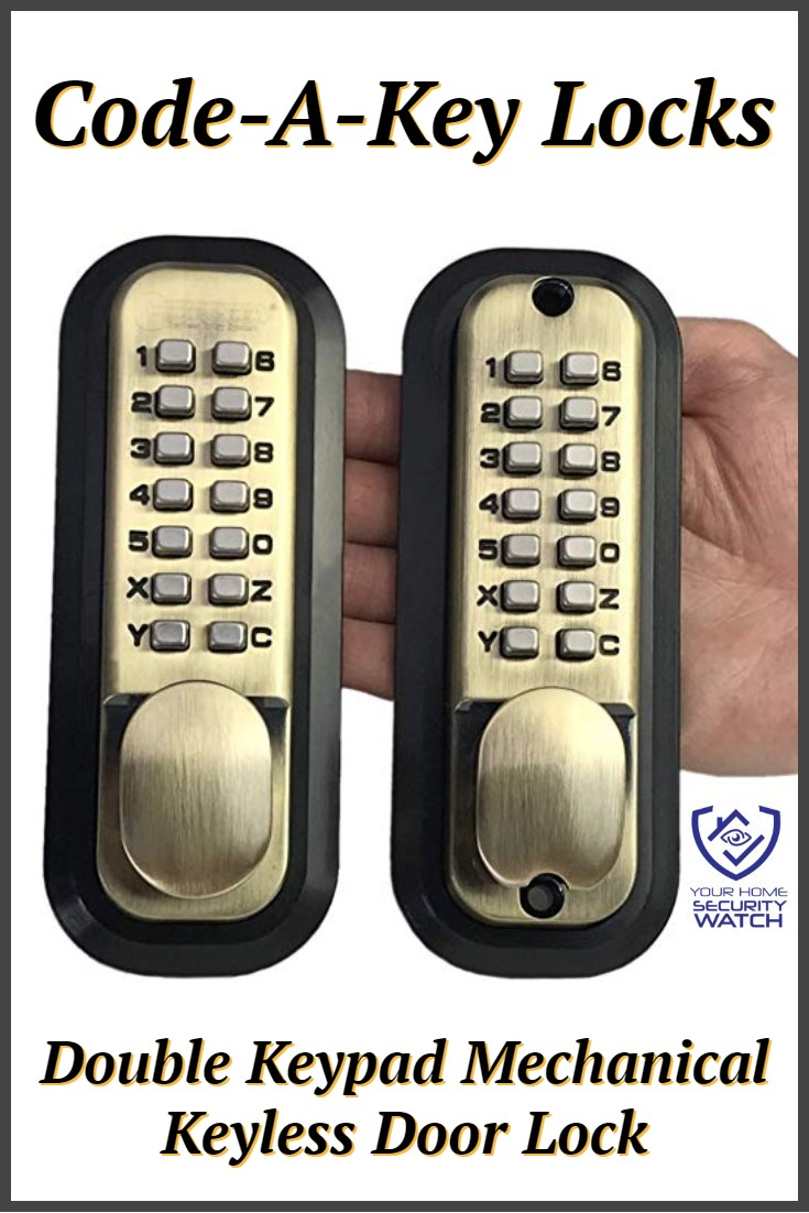 Code-A-Key All-Weather Double Keypad Mechanical lock review