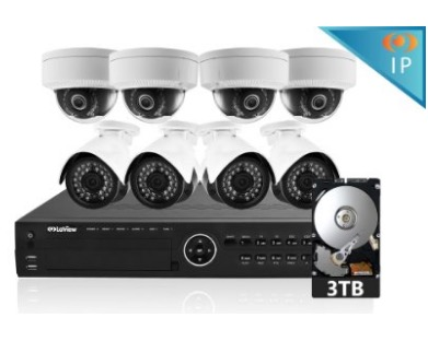 LaView 8 1080P IP Camera Security System 16 CH review