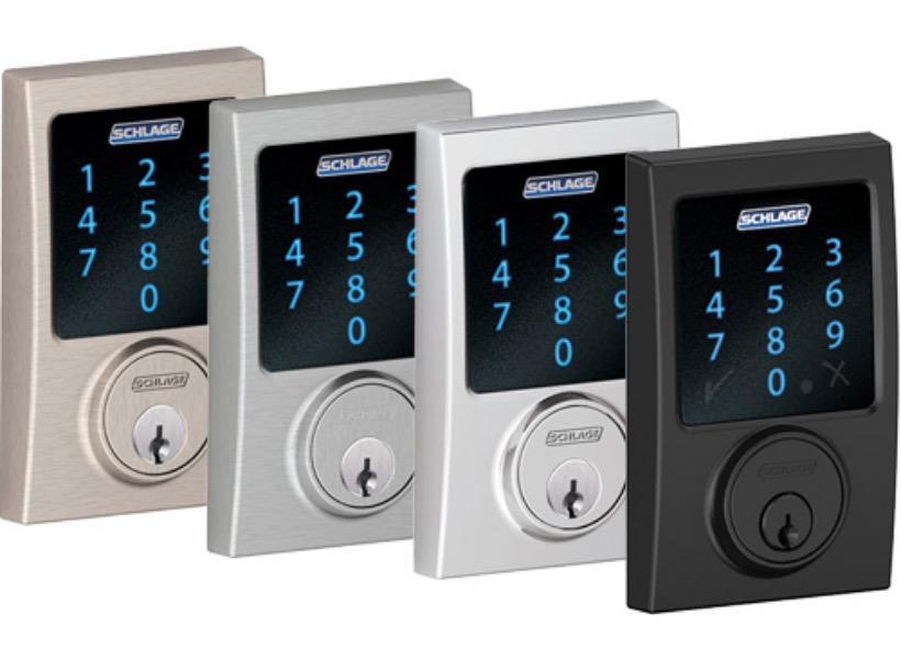 Schlage Connect Z Wave Deadbolt With Built In Alarm Your