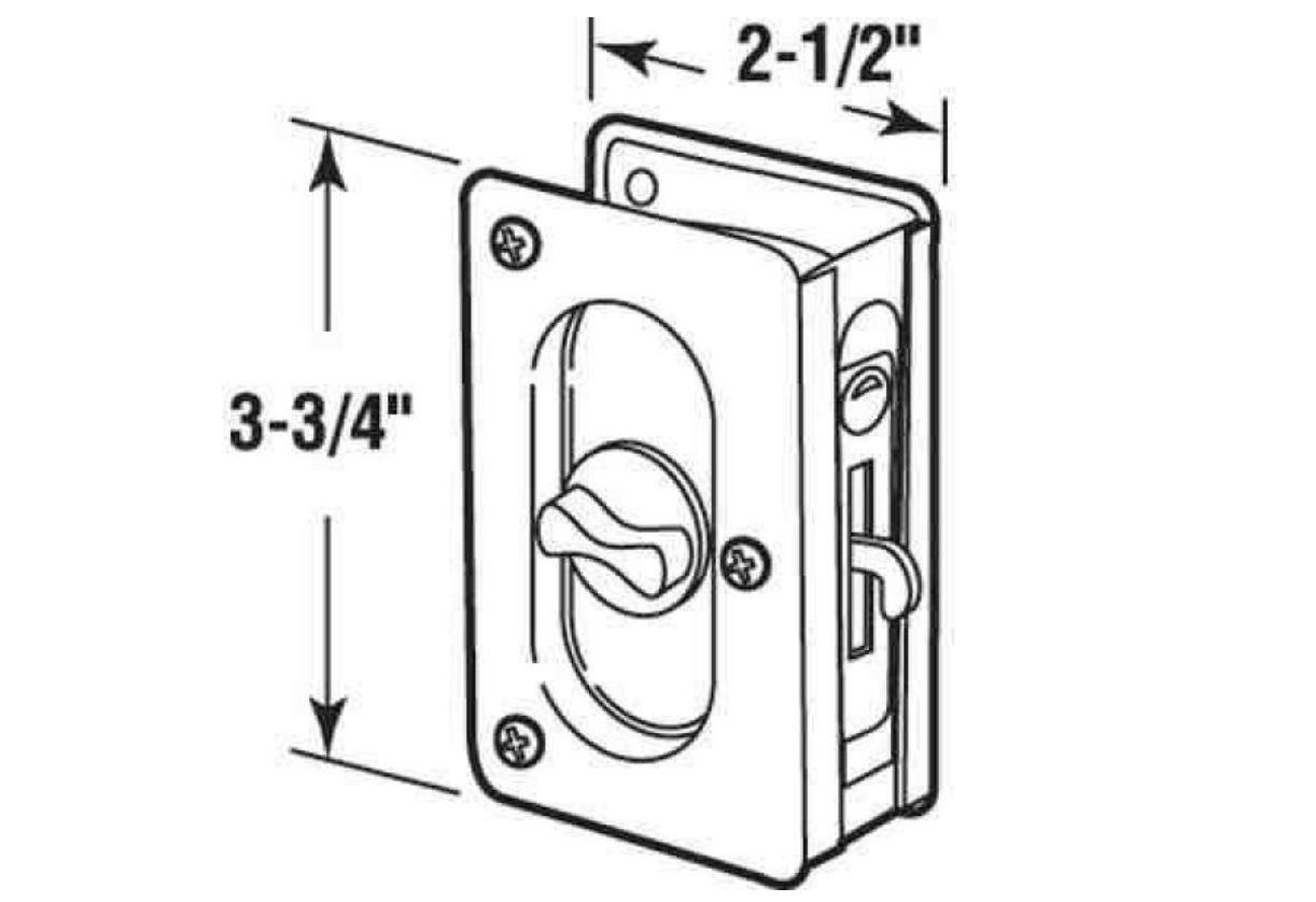 Best Pocket Door Locks Hardware By Schlage Kwikset And