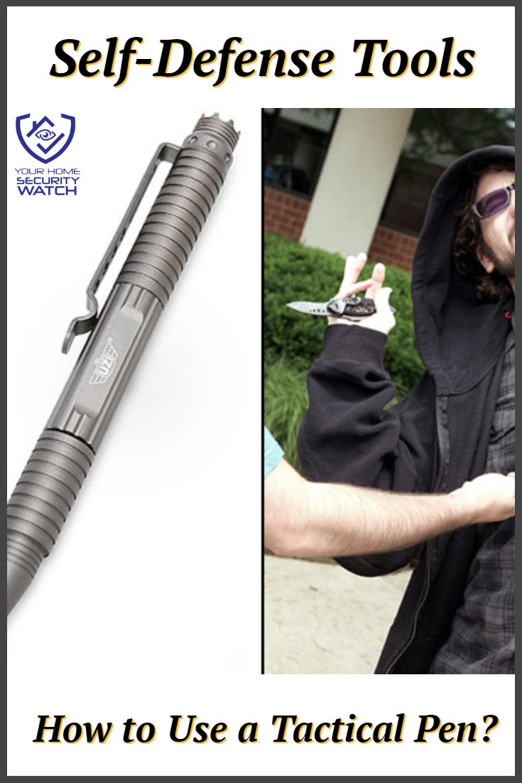 How to Use a Tactical Pen For Self-Defence