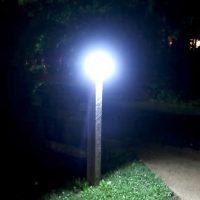 litom solar led security light