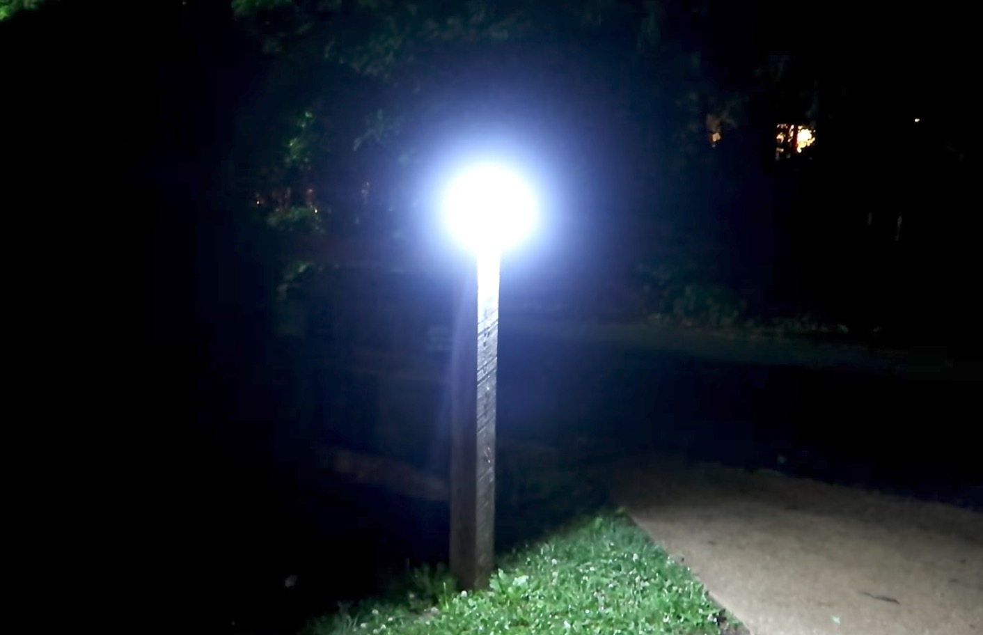 litom solar led security light