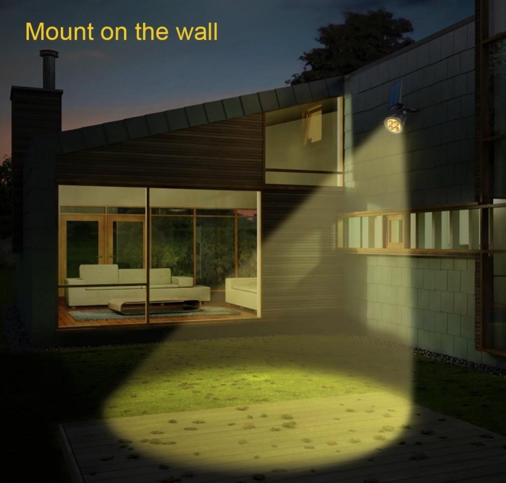 backyard spotlight