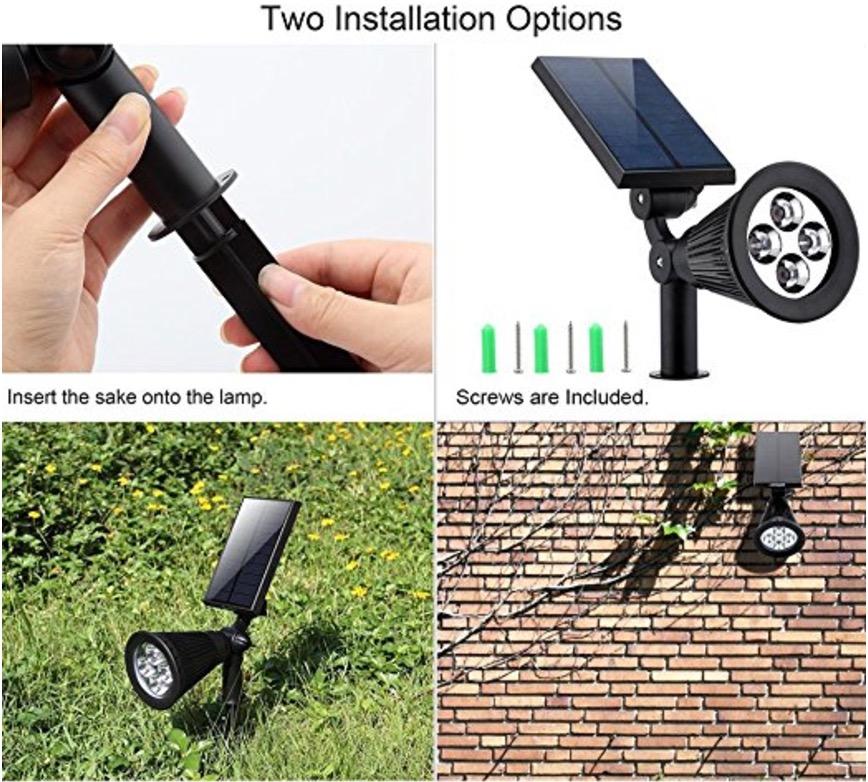 durable led solar light urpower