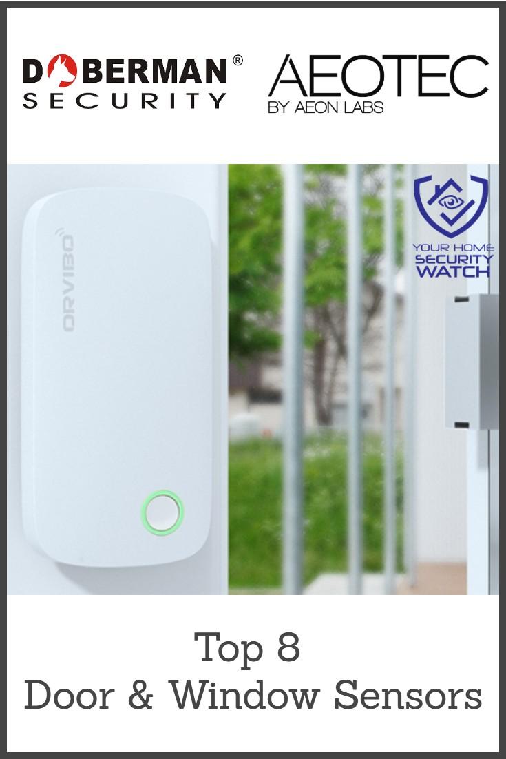Mini Window or Door Security System Wireless Set of 8