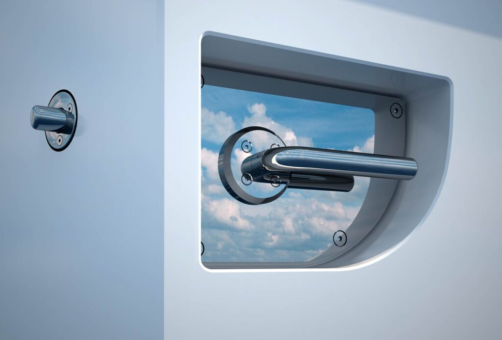 yacht door lock