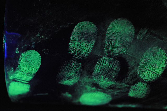 crime scene fingerprints