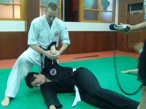 master david barney jr hapkido instructor