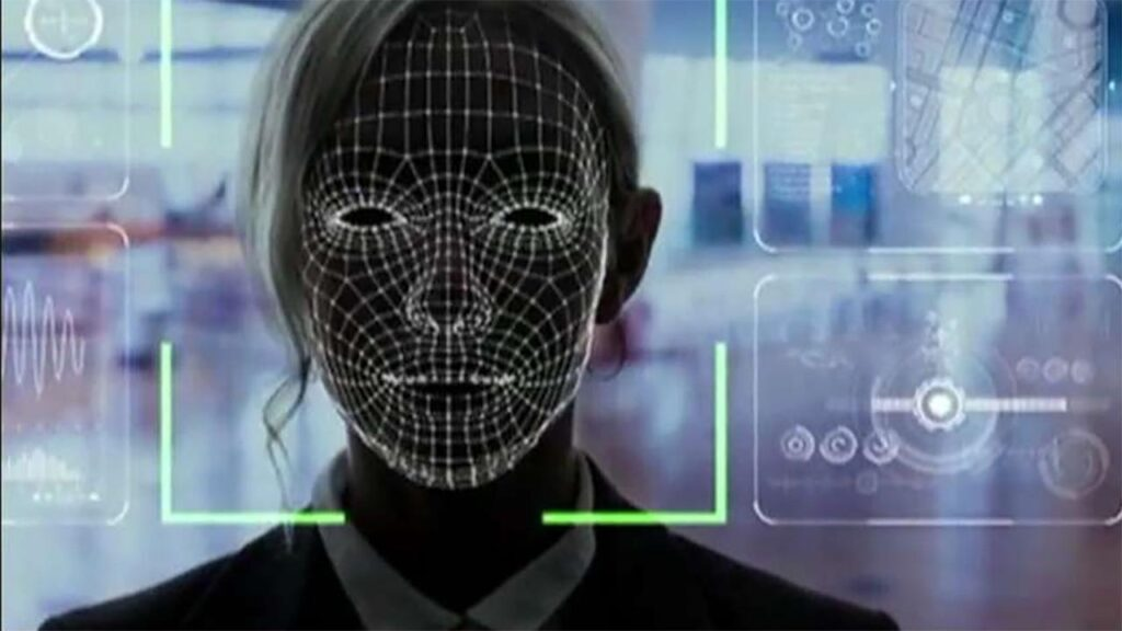 minority report facial recognition